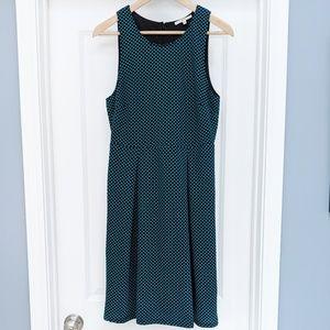 41 Hawthorn turquoise polka dot Jace dress